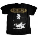 Lou Reed ( T-Shirt Homme - Taille S )