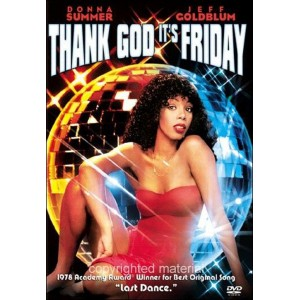 Donna Summer - Thank God It's Friday ( DVD Vidéo )