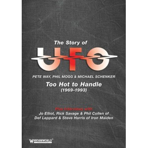 Story of UFO - Too Hot to Handle 1969-93 ( DVD Vidéo )